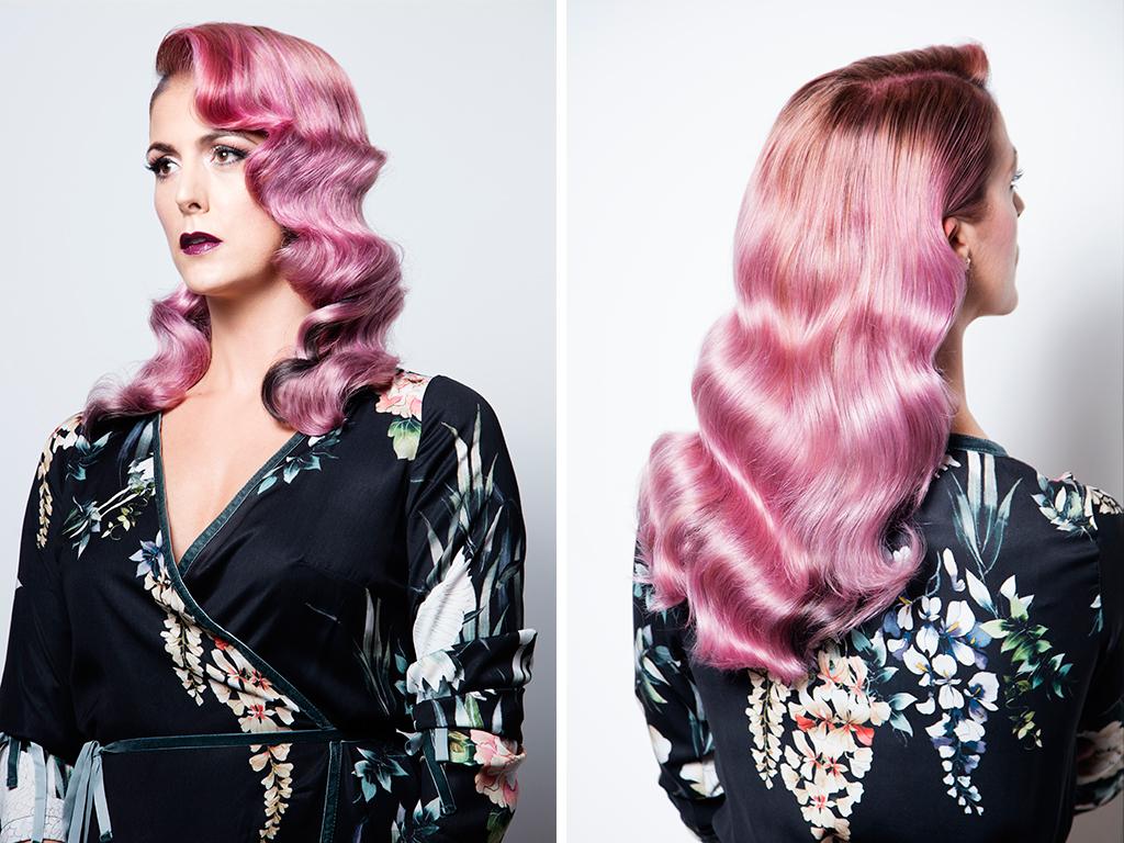 Balayage Pink Hair